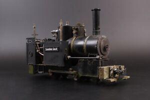 Regner Dampftechnik 16mm (32mm Gauge) Live Steam 'Lumber Jack', w/RC