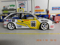 RC Karo Opel Astra F GSI 1/10 body to fit Tamiya LRP HPI Yokomo MST Drift