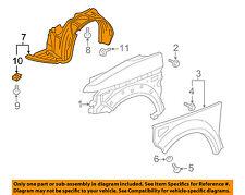 HONDA OEM 03-08 Element-Front Fender Liner Splash Shield Right 74101SCVA00