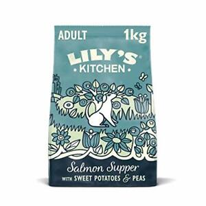 Lily's Kitchen Salmon Supper - Grain Free Adult Dry Dog Food (1 kg)