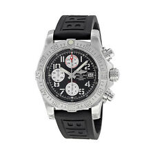 Breitling Mens Avenger II Black Automatic Chrono Swiss Watch A1338111/BC33 153S