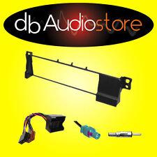 Mascherina+Cavi ISO e Antenna per Autoradio 1 Din per BMW Serie3 E46 '01 > '06