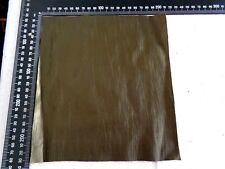 Brand New Crinkled GREEN 24 x 22 cm, 1 Piece GENUINE LEATHER-SCRAPS,OFF CUTS