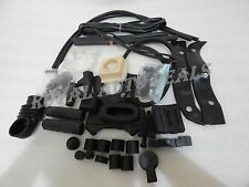 NEW LAMBRETTA GP DL COMPLETE BLACK COLOUR RUBBER KIT