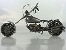 Motorcycle Scrap Metal Art Harley Davidson