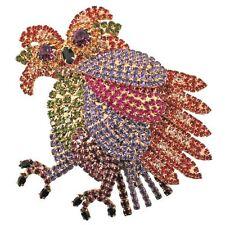 NEW KIRKS FOLLY LARGE LTD COUTURE NICODEMUS OWL PIN ENHANCER GOLDTONE