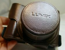 Panasonic Lumix camera Protective Leather Pouch Case DMC  GX  genuine OEM