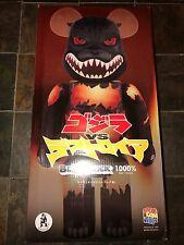 Medicom Bearbrick Be@rbrick 1000% Giant Desgodzi Burning Godzilla Japanese