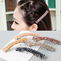 Crystal Pearl Hair Clip Hairband Comb Bobby Pin Barrette Hairpin Women Headdress