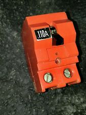 NEW CROUSE-HINDS MP-H 2 POLE 110A RED HUMP BREAKER 110 AMP MPH2110 MP110