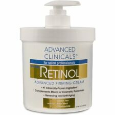 Advanced Clinicals Retinol Cream 16 oz