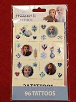 Disney Frozen 2 Sticker Set 96 Stickers Anna Elsa Olaf NEW