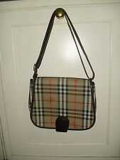 Burberry Women's Check Handbags with Inner Dividers