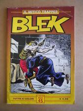 BLEK - Collana Art Collection n°45 a colori 2002 edizioni IF  [G502]