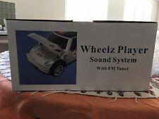 New listing Matrix Silver Car Fm/ Cd Player - Wheelz Player Sound System New