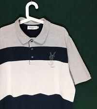 90's Vintage Yves Saint Laurent Paris Pour Homme Logo Polo T-shirt size XXL VLD