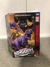 Transformers Kingdom Megatron Beast Figure War For Cybertron Generations