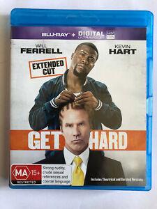 GET HARD Will Ferrell, Kevin Hart BLU-RAY DISC
