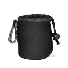 Camera Neoprene DSLR Lens Soft Pouch Protector Case Bag For Canon Nikon S Size