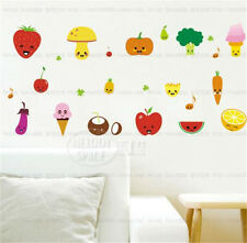 Vegetables food fruit Home bedroom Decor Removable Wall Sticker Decal Decoration