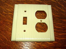 Vintage Ivory Bakelite Switch And Outlet Cover
