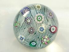 Perthshire Paperweight PP12 1975 Rare Indigo Lace Paperweight w/Silhouettes LE