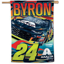 "William Byron 2018 Axalta #24 Car NASCAR Vertical Flag 28"" x 40"""