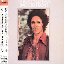 Gilbert O'Sullivan - Back to Front [Remaster] (JAPAN CD, 2001 Victor VICP-61411)