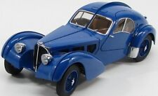 Bugatti 57s Atlantic 1938 Blue Metal Wire-Spoke Wheels 1:18 AUTOart AA 70942