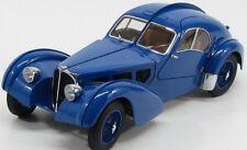Bugatti 57s Atlantic 1938 Blue Metal Wire-Spoke Wheels 1:18 AUTOart AA 70942