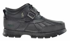 $120 Polo Ralph Lauren Dover Iii Black Leather mid outdoor Duck Hunting Boots 8