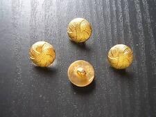 lot boutons dorés  haute couture