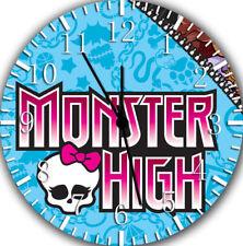 Monster High Frameless Borderless Wall Clock Nice For Gifts or Decor Z08