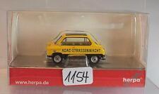Herpa 1/87 Nr. 091022 Zündapp Janus Limousine ADAC gelb OVP #1154