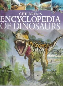 Children's Encyclopedia of Dinosaurs New Hardcover Book age 8-12