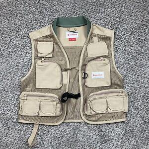 Redington Clark Fork Mesh Fly Fishing Vest Size XS Xsmall Big Back Pocket GUC