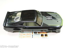 NEW HPI SPRINT 2 Body 1969 Mustang Factory Painted Black/Green w/decals HS6M