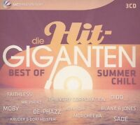 DIE HIT GIGANTEN - BEST OF CHILLOUT (ROBIN SCHULZ, COLDCUT,...)  3 CD NEU