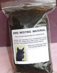 Natural Alpaca Fleece Bedding Nesting Material