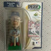 2001 MLB Play Makers Mark McGwire St. Louis Cardinals  Bobblehead & trading Card