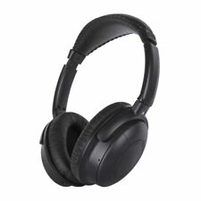 Qudo Noise Cancelling Over Ear Headphones Black