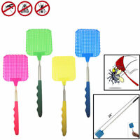 Portable Telescopic Extendable Fly Swatter Prevent Pest Mosquito Catcher Tool