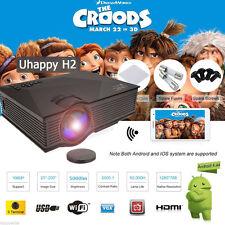 5000 Lumens LED WIFI Home Theater Projector HD 1080P HDMI/USB/SD/ATV/AV/VGA US