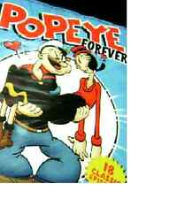 Popeye Forever 2009 DVD Mill Creek USA 18 CARTOONS NEW SEALED FREE SHIP TRACK US
