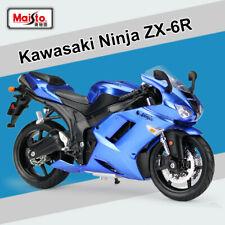 New Maisto 31155 1:12 Scale Kawasaki Ninja ZX-6R Motorcycle Diecast Model Toys