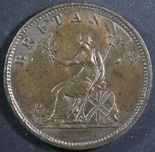 Great Britain KM#662 1806 Halfpenny, AU/Uncirculated Coin, George III