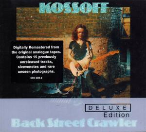 Paul Kossoff - Back Street Crawler - Deluxe Edition 2 x CD Digipak (2008) Island