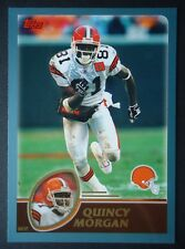 NFL 7 Quincy Morgan Cleveland Browns Topps 2003