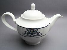 Rosenthal Pearl China Grace Society blaues Kordel Teekanne 2. Wahl ca. 1,4 l