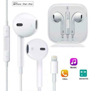 Kopfhörer mit Kabel Earpods Lightning für Apple Iphone 6 7 8 X XR XS 11 Mikrofon